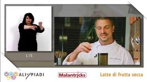 LIS - Latte di frutta secca - Malantricks - Alimpiadi