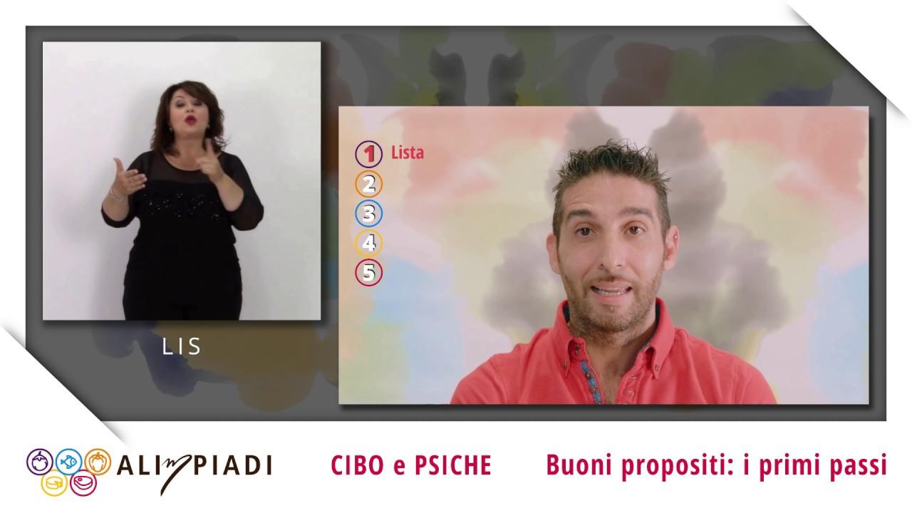 Buoni propositi: i primi passi - Cibo e psiche - Alimpiadi