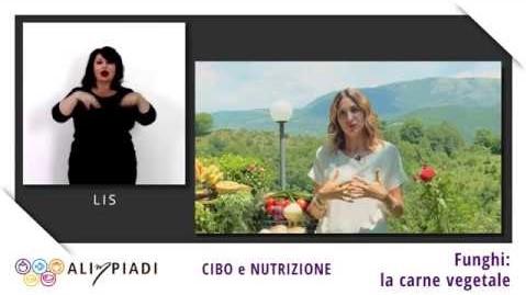 LIS - Funghi: la carne vegetale - Cibo e nutrizione - Alimpiadi
