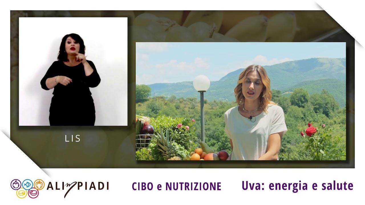 LIS - Uva: energia e salute - Cibo e Nutrizione - Alimpiadi