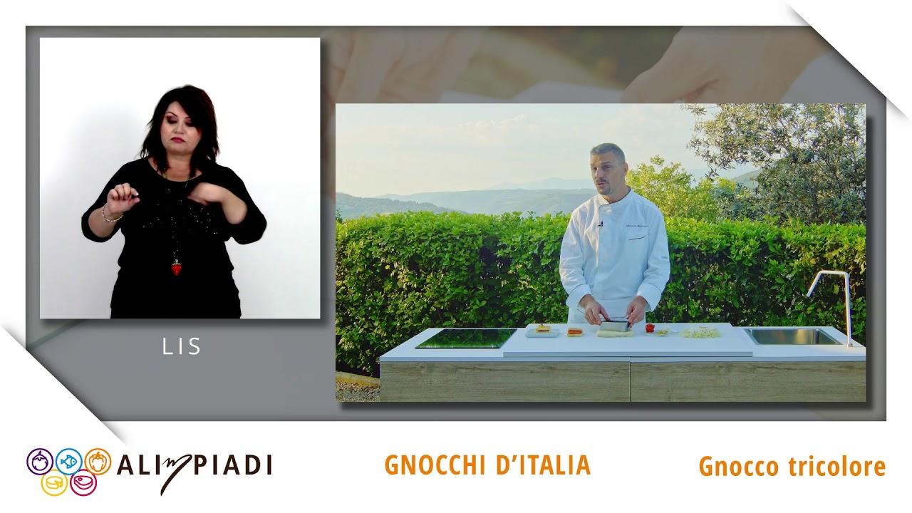 LIS - Gnocco tricolore - Gnocchi d'Italia - Alimpiadi