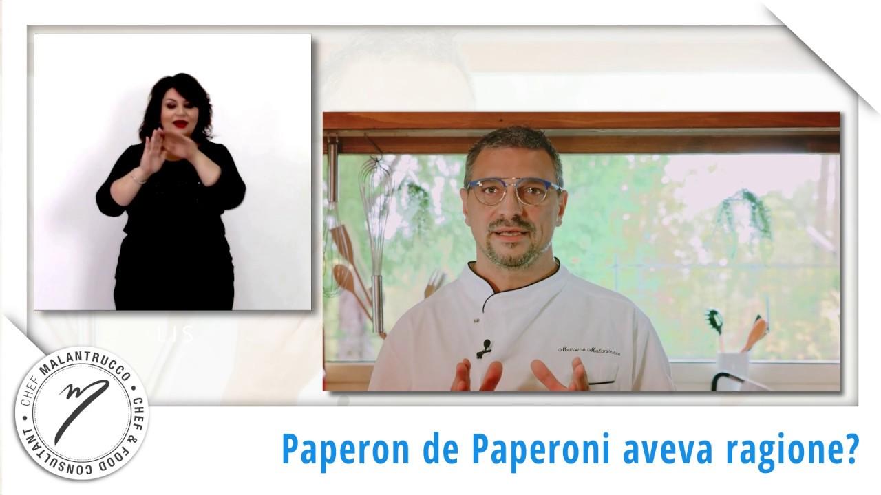 LIS - Cucina e business: Paperon de' Paperoni aveva ragione?