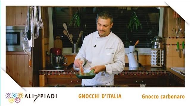 Gnocco carbonaro - Gnocchi d'Italia - Alimpiadi