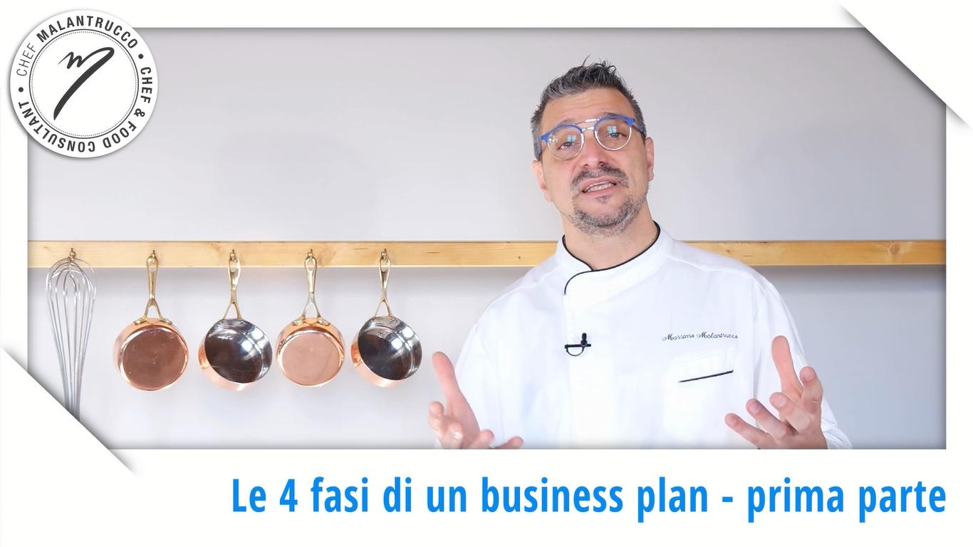 Cucina e Business le 4 fasi del Business Plan - prima parte