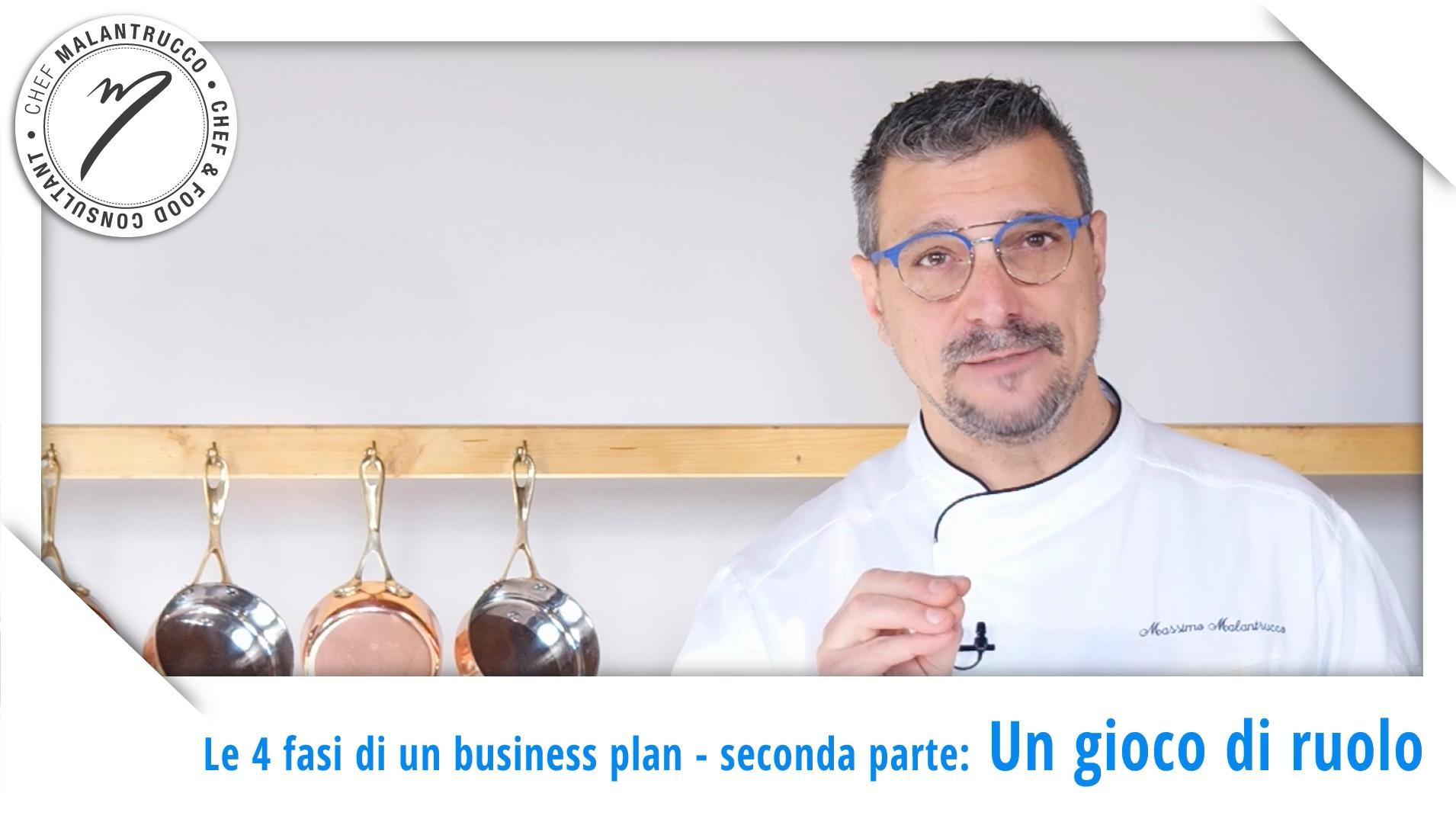 Cucina e Business le 4 fasi di un Business Plan - Un gioco di ruolo