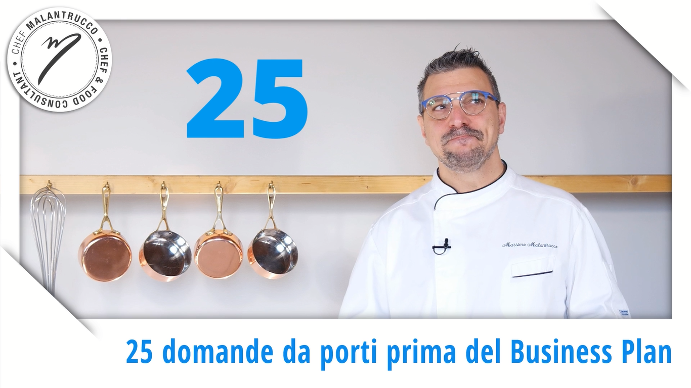 Cucina e Business: 25 domande da porti prima del Business Plan